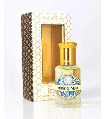 10 ml. Luxurious Veda Perfume Oil in Roll-On Glass Bottles LV11CC Krishna Musk