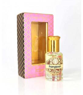 10 ml. Luxurious Veda Perfume Oil in Roll-On Glass Bottles LV11CC Frangipani