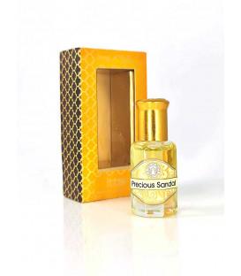 10 ml. Luxurious Veda Perfume Oil in Roll-On Glass Bottles LV11CC Precious Sandal