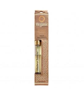 12 ml. Organic Goodness Fragrance Spray in Tubular Glass Bottle ORFS12 Madurai Jasmine
