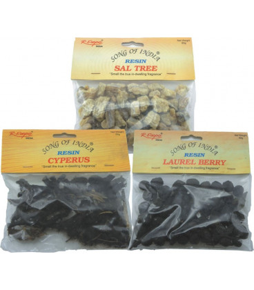 60 g. Three Kings Natural Resin in Hanging Pouch REP-TK