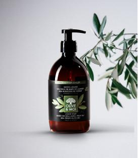 Mydło w płynie Aleppo BIO 20% Olejku Laurowego 80% Oliwy z Oliwek Extra Virgin 500ml Olive & Moi