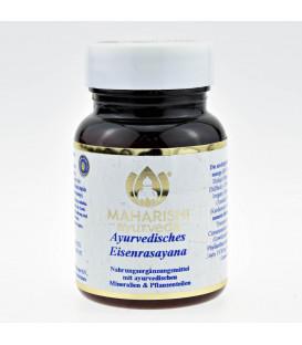 Herbal Iron Rasayana z żelazem, 60 tabletek Maharishi Ayurveda
