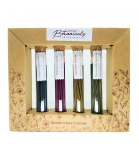 Komplet Kadzideł Bez bambusa GIFT BOX - Botanicals Aromatherapy, Song of India