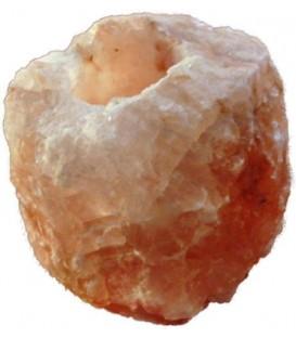 Świecznik solny naturalny