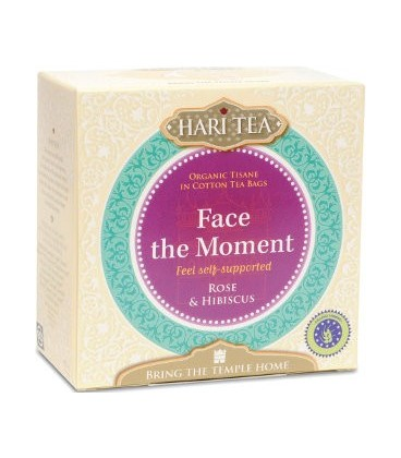 Face the Moment! Hari Tea, 10 teabags organic