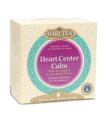 Heart Center Calm! Hari Tea, 10 teabags organic