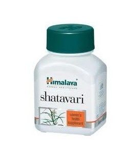 Shatavari (asparagus racemosus ) Himalaya 60 tab.- Suplement dla każdej kobiety