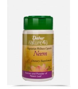 Neem Dabur 60 kapsułek (Suplement diety)