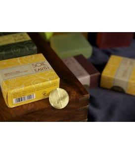 Ręcznie robione w Indiach mydło 100% VEGAN Neroli i Limonka 125g Soil&Earth - ujędrniające i orzeżwiające