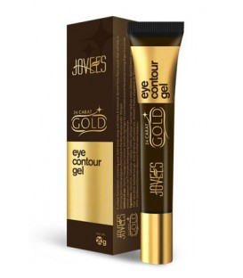 Żel pod oczy 24 Carat Gold, 20g, Jovees - likwiduje cienie i przywraca elastyczność powiekom
