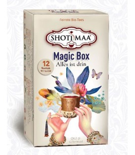 Zestaw Ajurwedyjskich Magicznych Herbat Magic Box -12 saszetek, Shoti Maa
