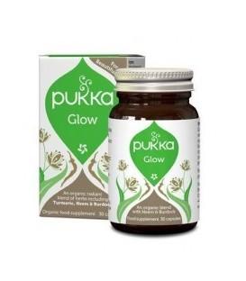 Glow Piękna skóra 30 kapsułek BIO PUKKA (suplement diety)