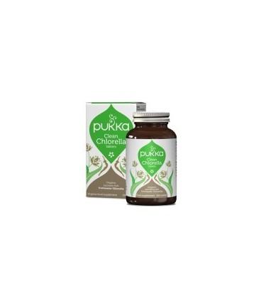 Clean Chlorella 400 tabletek BIO PUKKA (suplement diety)