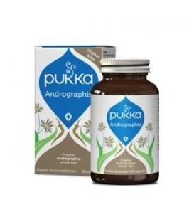 Andrographis Odporność i Wspomaganie Układu Pokarmowego 30 kapsułek Pukka (suplement diety)