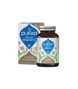 Naturalna Witamina C BIO 60 kapsułek PUKKA (suplement diety)