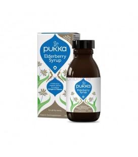 Syrop Elderberry dla układu oddechowego 100ml BIO PUKKA (suplement diety)