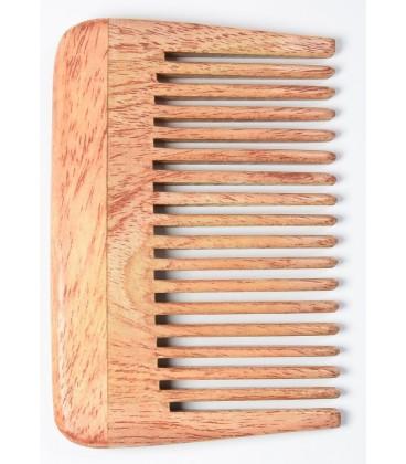 Grzebień do włosów z drzewa Neem, rozmiar A - Eco-friendly