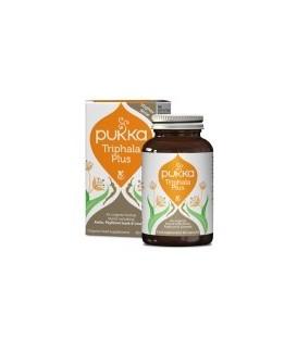 Triphala Plus (Układ pokarmowy) 60 kapsułek BIO PUKKA suplement diety