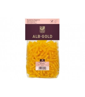 MAKARON KUKURYDZIANO - RYŻOWY FUSILLI BIO BEZGLUTENOWY 250 g - ALB-GOLD