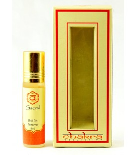 Olejek perfumowany na 2 czakrę SACRAL 8 ml Song of India