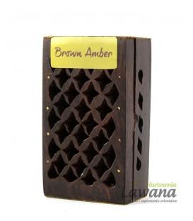 Żywica Amber w drewnianej szkatułce 5g Song of India