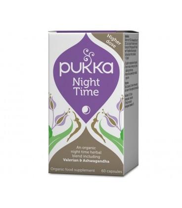 Nocny Spokój Night Time 60 kapsułek Pukka suplement diety