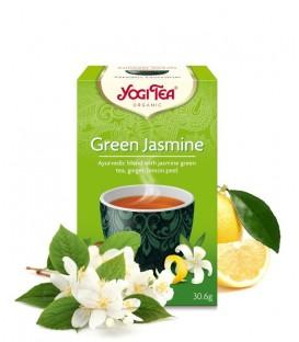 Herbata Zielona Jaśminowa  Bio 17 torebek, Yogi Tea