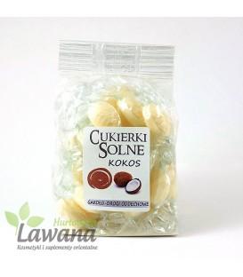 Cukierki solne o smaku kokosowym z solą himalajską, 100g
