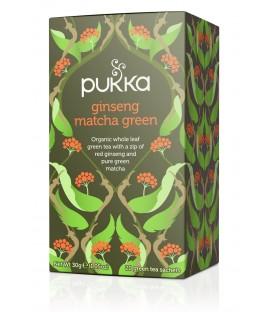 Herbata Ginseng Matcha Green - 20 torebek, Pukka