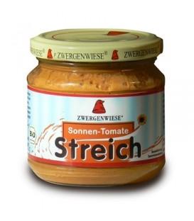 Pasta słonecznikowa z suszonymi pomidorami Bezglutenowa Bio 180 g - Zwergenwiese