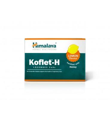 Koflet-H Pastylki do ssania o smaku cytrynowym, 2 x 6 sztuk Himalaya