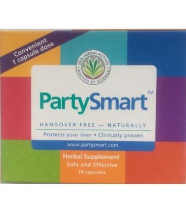 Party Smart suplement na kaca, 10 kapsułek Himalaya