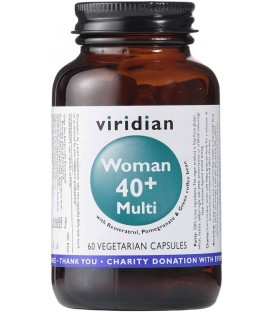 Suplement Diety Dla Kobiet Woman 40+ Multi 60 kapsułek, Viridian