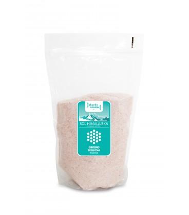 Sól Himalajska Różowa Drobna 1 kg (jadalna)