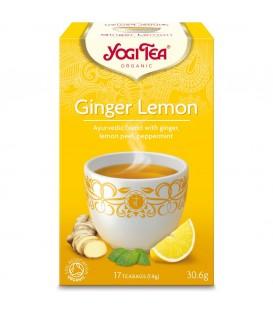 Herbata Imbirowo-Cytrynowa Bio 17 torebek YOGI TEA