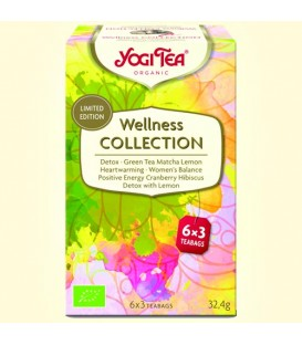 Mix Herbat Wellness Collection BIO 6 x 3 torebki YOGI TEA