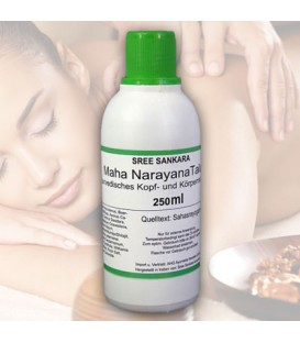 Mahanarayana Thailam Sree Sankara, ajurwedyjski olej do masażu, 250 ml