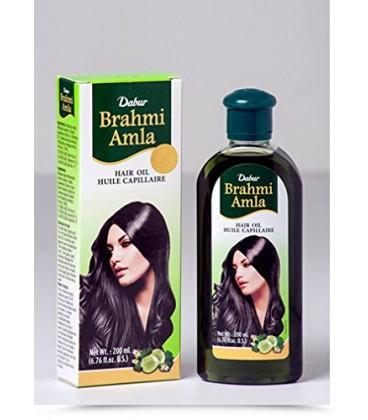 Olejek do włosów Brahmi Amla Hair Oil 200ml Dabur
