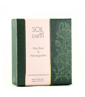 SOIL AND EARTH HANDMADE SOAP- HOLY BASIL