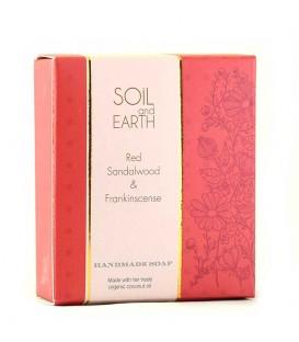 Mydło Orientalne 100% VEGAN CZERWONY SANDAŁOWIEC 100g Soil & Earth - Indyjski Afrodyzjak