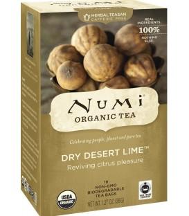 Herbata z suszonej limonki, Numi Tea organic, 18 torebek