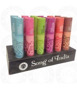 Tradycyjne kadzidła w opakowaniu w kształcie tuby, Ocean Breeze, 25g Song of India