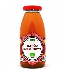 NAPÓJ KURKUMOWY BIO 250 ml - DARY NATURY