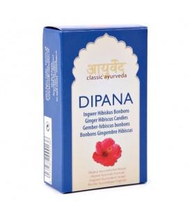 Cukierki hibiskusowo - imbirowe pobudzające trawienie 50 g Dipana Ayurveda