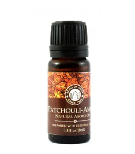 Olejek eteryczny z zakraplaczem, Patchouli-Amber , Song of India, 10ml