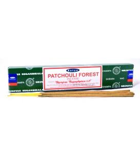 Kadzidła Satya, PATCHOULI FOREST, 14 patyczków, 15g SATYA Bombaj
