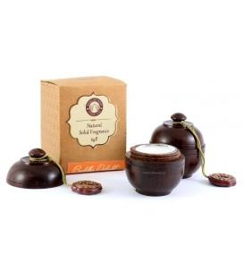 Perfumy w szkatułce z drzewa różanego BUDDHA DELIGHT 6g Song of India