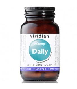 Daily Synbiotic (30 kapsułek) suplement diety Viridian