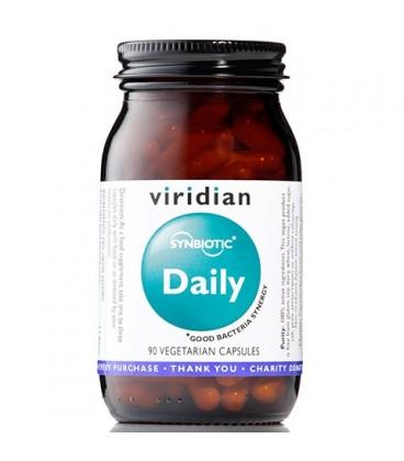 Daily Synbiotic (90 kapsułek) suplement diety Viridian